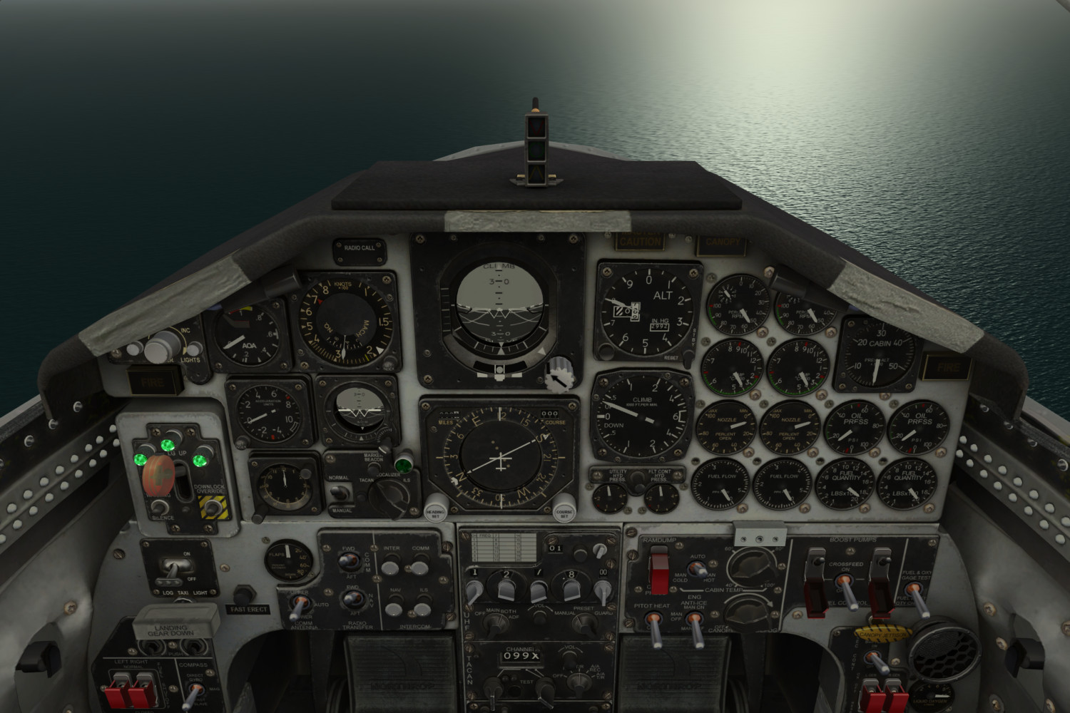 FlyInside: Virtual Reality Flight Simulation